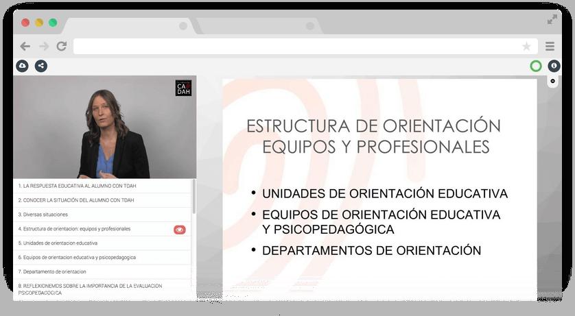 Reproductor interactivo y audiovisual del conocimiento